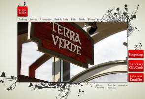 Terra Verde Flash Website