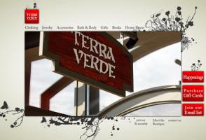 Terra Verde Flash Website