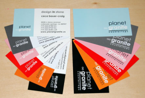 Planet Granite Business Cards
