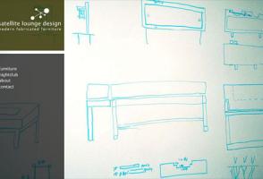 Satellite Lounge Design